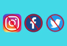 facebook instagram twitter banned in india