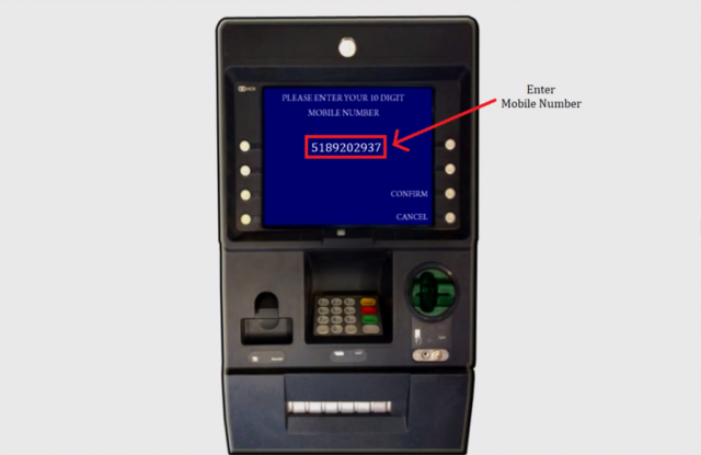 generated pin for debit card