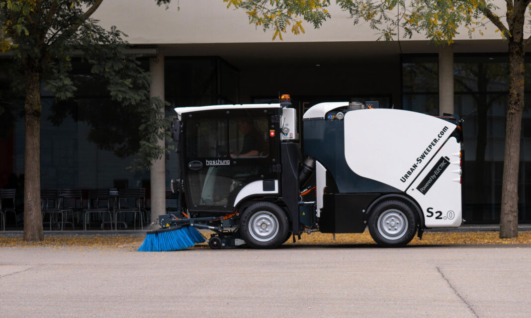 All Electric Road Sweepers