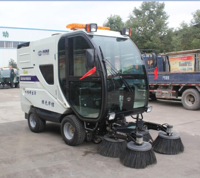 All electric road sweepers 2