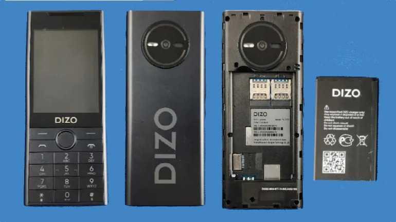 Dizo feature phone