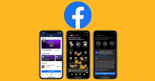 Facebook Live Audio Rooms with Clubhouse 2