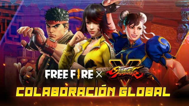 Free Fire and Street Fighter collaboration 1