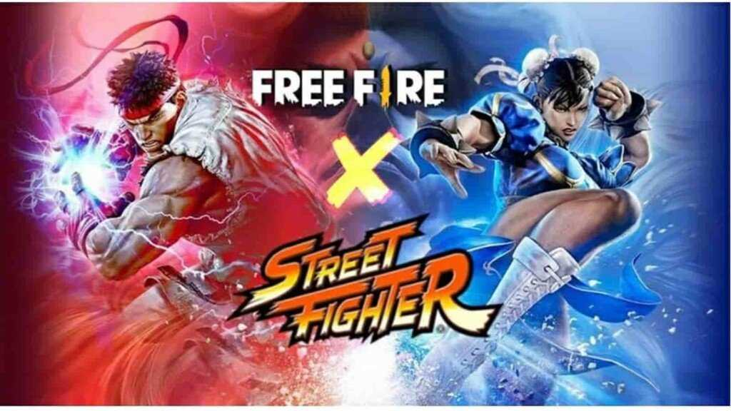 Free Fire and Street Fighter collaboration