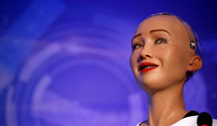 Humanoid With Facial Expressions