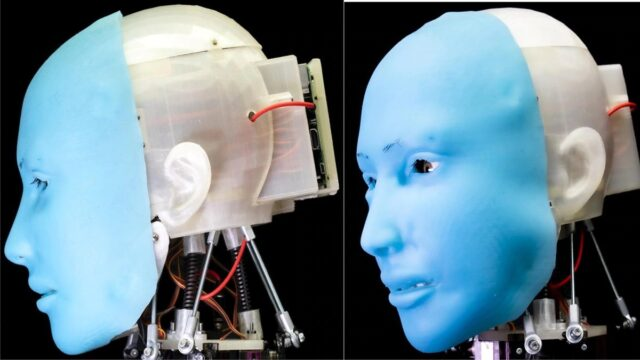 Humanoid with facial expressions 1