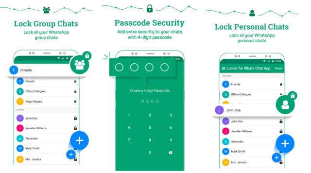 Lock Particular Chat in Whatsapp 1