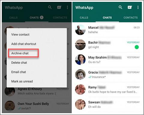 Lock Particular Chat in Whatsapp 2