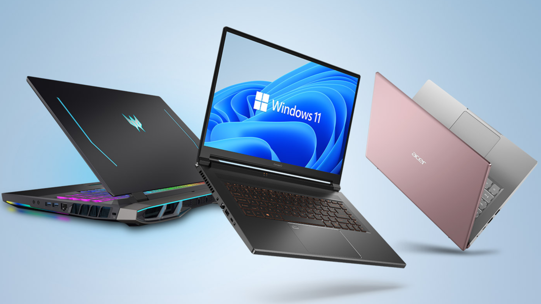 New Laptop With Windows 11