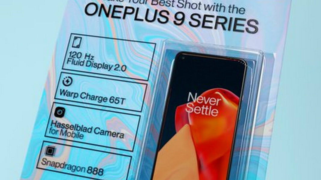 Oneplus 9 new packaging