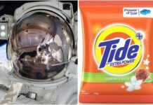 Tide partners with nasa 1
