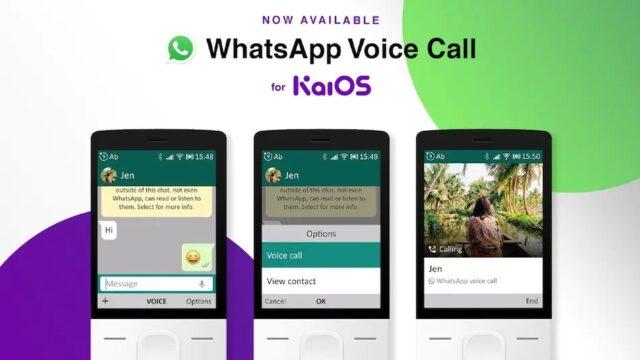 Whatsapp call jiophone 1