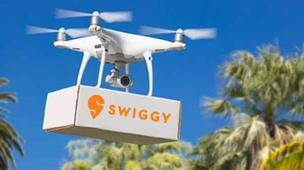 swiggy drone delivery 1