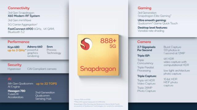 Snapdragon 888+ 1