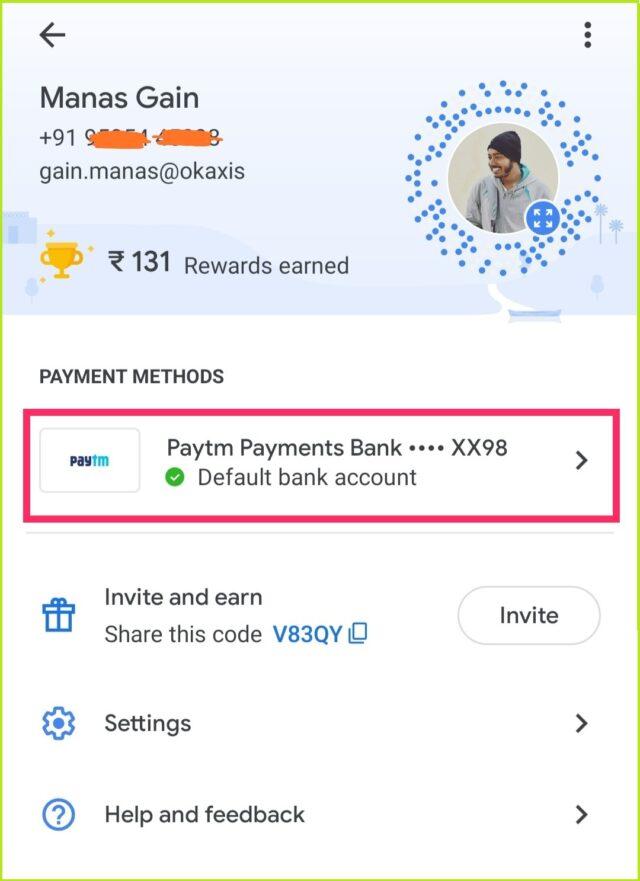 change upi id on google pay 2