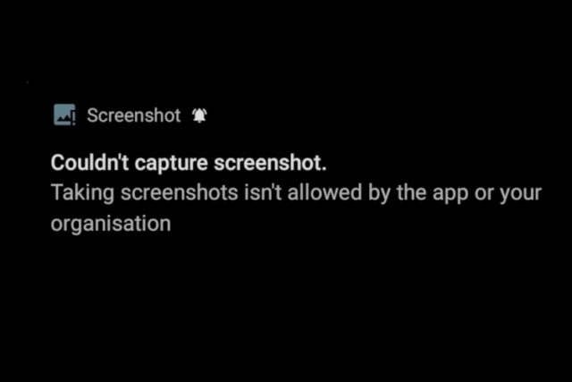 take screenshot in restricted apps 1