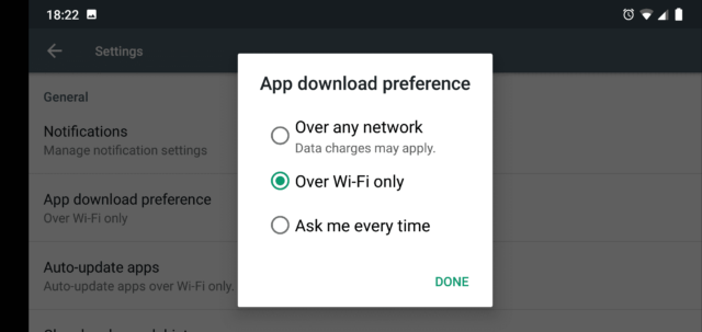 Google Play Store is Not Working on Wifi 1