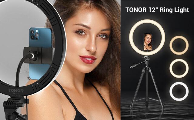 Tonor TRL-20 Large Selfie Ring Light