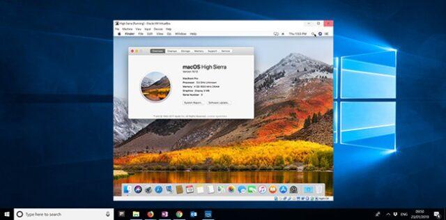 Virtualbox and Install Mac OS