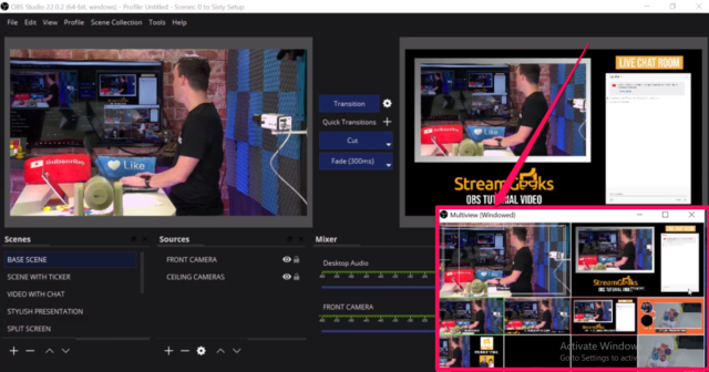 Open Broadcaster Software(OBS)