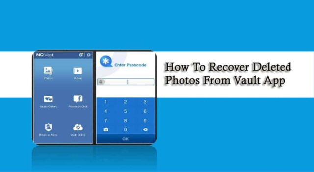 Recover Deleted Photos from Vault App 1