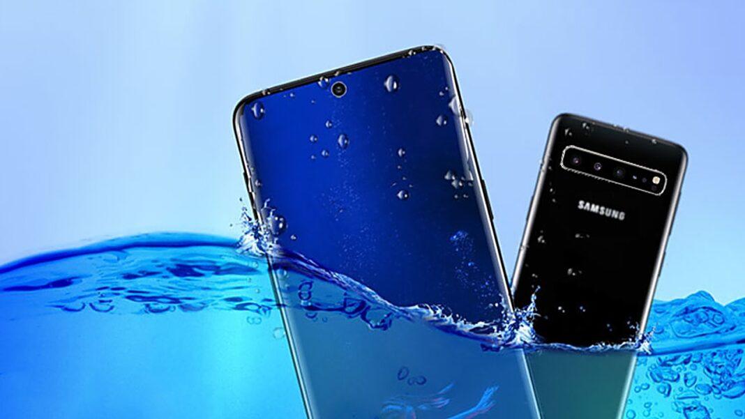 Samsung waterproof phone