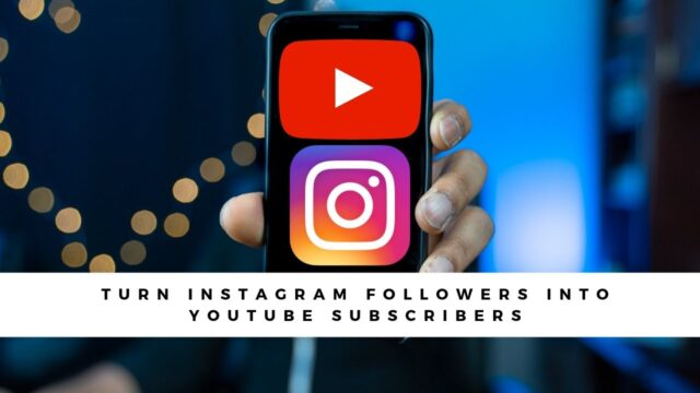 Turn Your Instagram Followers into YouTube Subscribers 1